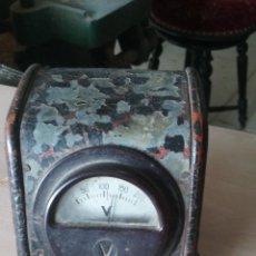Radios antiguas: VOLTIMETRO REGULADOR DE CORRIENTE PARA RADIOS ANTIGUAS. Lote 54320075