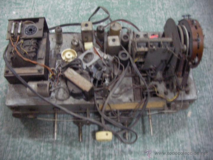 ANTIGUO CHASIS DE RADIO A LAMPARAS O VALVULAS (Radios, Gramófonos, Grabadoras y Otros - Repuestos y Lámparas a Válvulas)