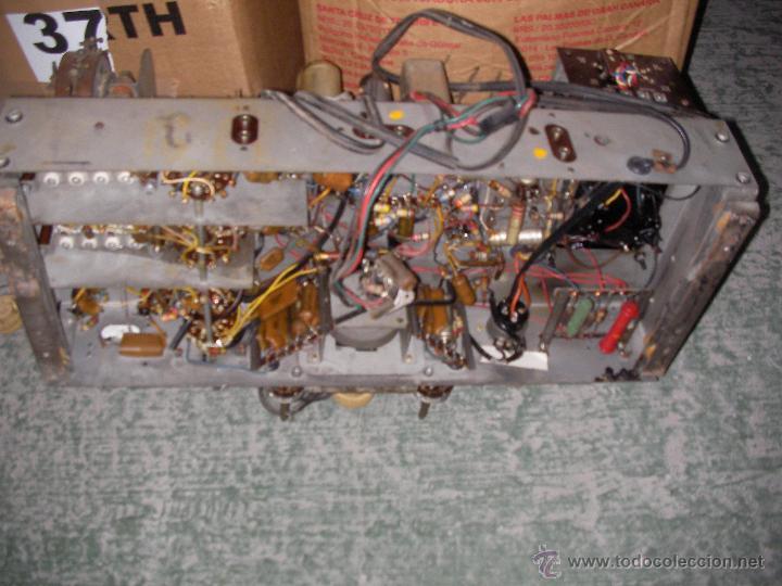 Radios antiguas: ANTIGUO CHASIS DE RADIO A LAMPARAS O VALVULAS - Foto 4 - 54527822