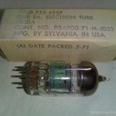Radios antiguas: VALVULA 6BR8A TUBE NOS SYLVANIA. 6BR8A = 6FV8A (3 UNIDADES DISPONIBLES). Lote 56127580