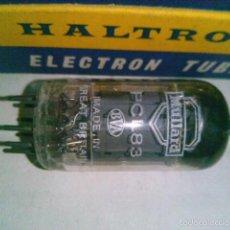 Radios antiguas: VALVULA PCL83 HALTRON NUEVA EN CAJA ORIGINAL ANTIGUO STOCK. Lote 56285592