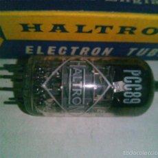 Radios antiguas: VALVULA PCC89 HALTRON NUEVA EN CAJA ORIGINAL ANTIGUO STOCK. Lote 56285650