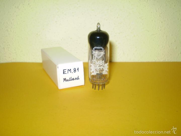 1 X EM81-MULLARD-NOS-TUBE. (Radios, Gramófonos, Grabadoras y Otros - Repuestos y Lámparas a Válvulas)