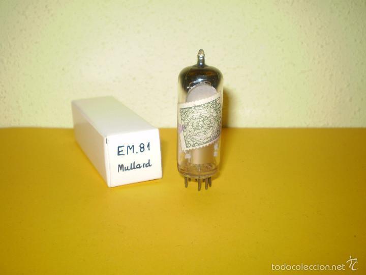 Radios antiguas: 1 X EM81-MULLARD-NOS-TUBE. - Foto 2 - 56394729