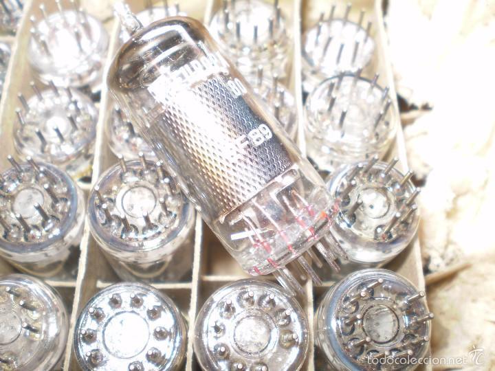 1 X EF89-EUROPA-NUEVA-NOS-TUBE. (Radios, Gramófonos, Grabadoras y Otros - Repuestos y Lámparas a Válvulas)