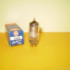 Radios antiguas: 1 X 1U4-GENERAL ELECTRIC-NOS/NIB-TUBE.. Lote 56578000