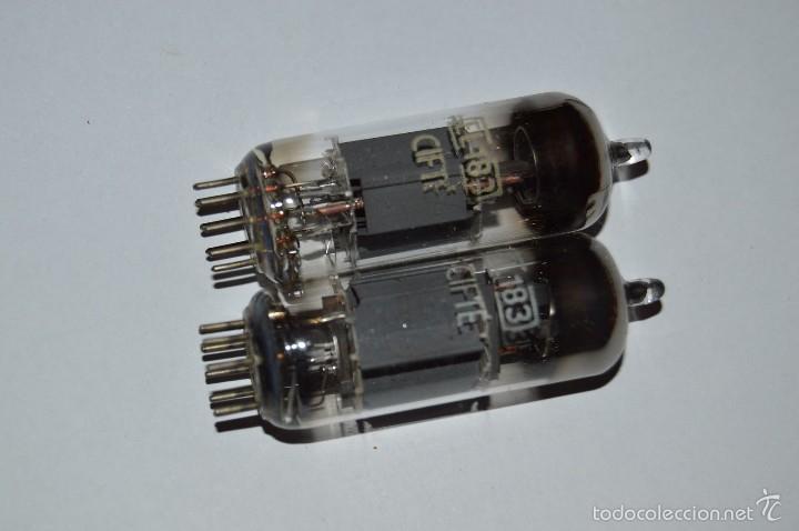 EL 183 - 2 VÁLVULAS / LÁMPARAS - MARCA CIFTE MODELO EL183 (Radios, Gramófonos, Grabadoras y Otros - Repuestos y Lámparas a Válvulas)
