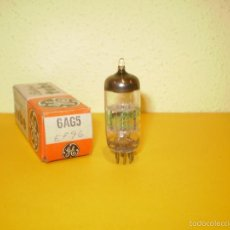 Radios antiguas: 1 X 6AG5-GENERAL ELECTRIC-NOS/NIB-TUBE.. Lote 56622093