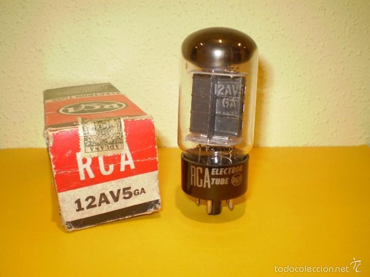 VALVULA 12AV5GA-RCA-NOS/NIB-TUBE. (Radios, Gramófonos, Grabadoras y Otros - Repuestos y Lámparas a Válvulas)