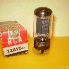 Radios antiguas: VALVULA 12AV5GA-RCA-NOS/NIB-TUBE.. Lote 56862227