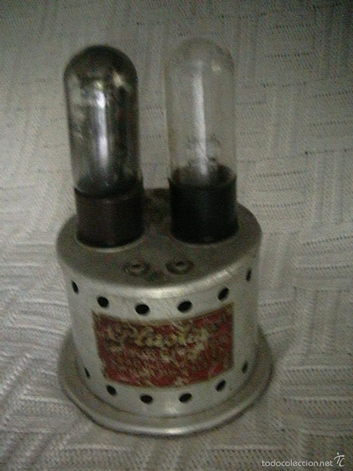 Radios antiguas: radio cargador baterías válvulas - Foto 3 - 57872752