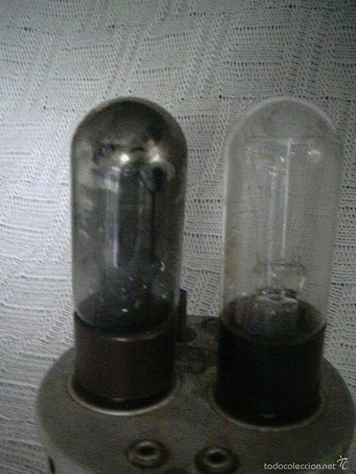 Radios antiguas: radio cargador baterías válvulas - Foto 6 - 57872752