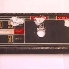 Radios antiguas: DIAL PLASTICO PARA RADIO. Lote 58404533