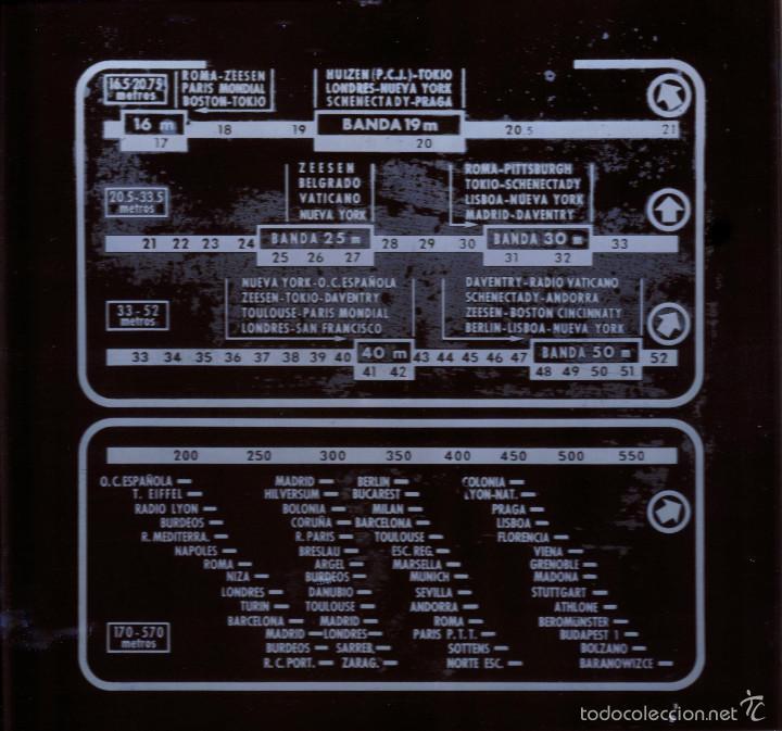 Radios antiguas: Antiguo cristal para radio de valvulas....sanna - Foto 2 - 58435493