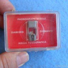 Radios antiguas: AGUJA PARA TOCADISCOS NUEVA,EN CAJA ADC RSQ 30. Lote 58467924