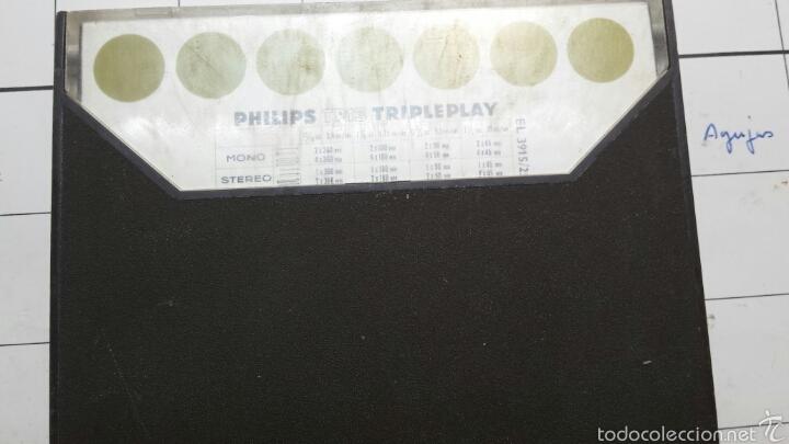 Radios antiguas: Antigua cinta magnética en caja original Philips - Foto 2 - 58497035