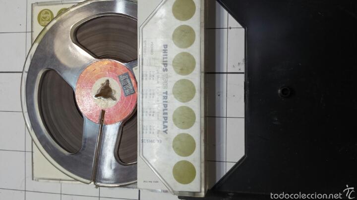 Radios antiguas: Antigua cinta magnética en caja original Philips - Foto 3 - 58497035