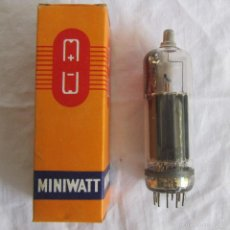 Radios antiguas: VÁLVULA MINIWATT PL504 CAJA ORIGINAL. Lote 58630207
