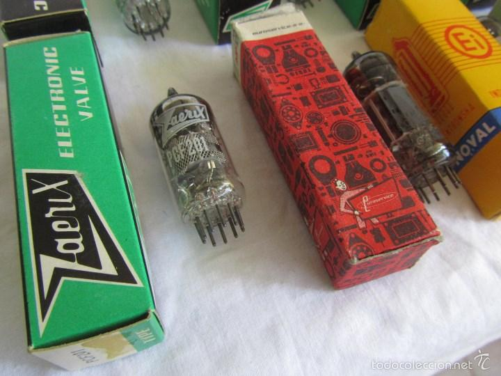 Radios antiguas: 15 válvulas cajas originales - Foto 8 - 58630253