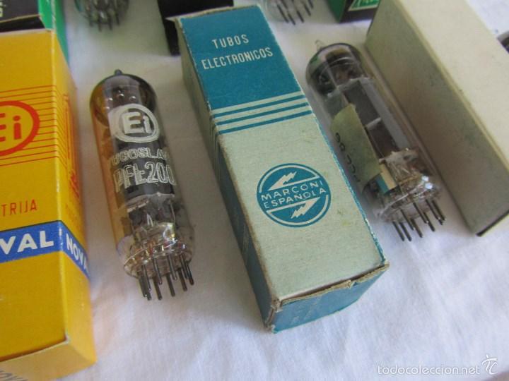 Radios antiguas: 15 válvulas cajas originales - Foto 9 - 58630253