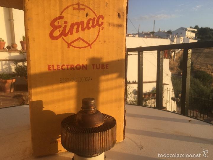 Radios antiguas: Eimac Valvula Tube 3CX1000A7 valvula Eimac - Foto 2 - 59731796