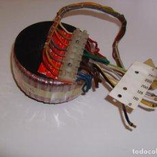 Radios antiguas: TRANSFORMADOR DE ALIMENTACIÓN TOROIDAL PARA AMPLIFICADOR, RADIO, FUENTE DE ALIMENTACIÓN, ETC.. Lote 65433711