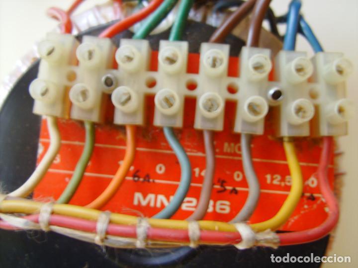 Radios antiguas: Transformador de alimentación toroidal para amplificador, radio, fuente de alimentación, etc. - Foto 3 - 65433711