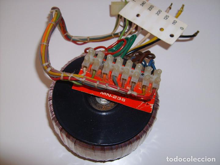 Radios antiguas: Transformador de alimentación toroidal para amplificador, radio, fuente de alimentación, etc. - Foto 4 - 65433711