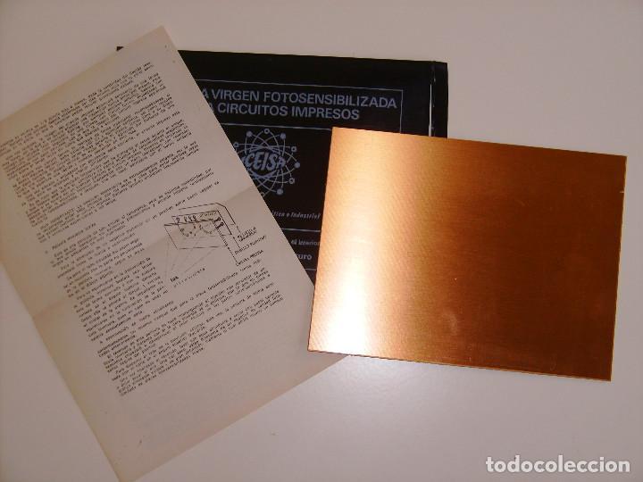 Radios antiguas: Lote 18 placas de fibra de vidrio y de baquelita virgenes de circuito impreso. - Foto 3 - 65433871