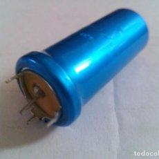 Radios antiguas: CONDENSADOR 350V 50UF BIANCHI CAPACITOR. Lote 68353761