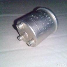 Radios antiguas: CONDENSADOR 85MFD 600V DC.W 55850 SPRAGUE CAPACITOR. Lote 68684757