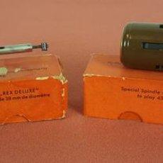 Radios antiguas: PAREJA DE CAMBIADORES DE DISCOS. PARA GIRADISCOS. PERPETUUM EBNER. ALEMANIA. CIRCA 1950. . Lote 72994647
