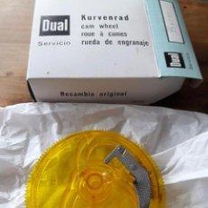 Radios antiguas: RUEDA DE ENGRANAJE DE TOCADISCOS / RECAMBIO ORIGINAL / KURVENRAD / SERVICIO DUAL. Lote 74144247