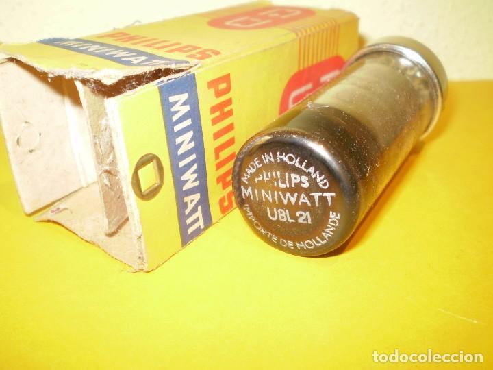 VALVULA UBL21-MINIWATT-NOS/NIB-TUBE. (Radios, Gramófonos, Grabadoras y Otros - Repuestos y Lámparas a Válvulas)