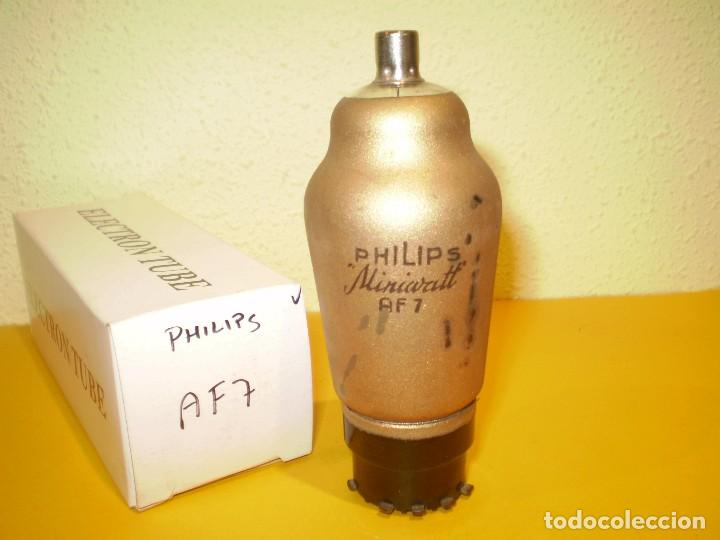 VALVULA AF7-PHILIPS-USADA-PROBADA. (Radios, Gramófonos, Grabadoras y Otros - Repuestos y Lámparas a Válvulas)
