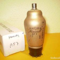 Radios antiguas: VALVULA AF7-PHILIPS-USADA-PROBADA.. Lote 76558931
