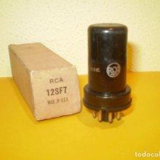 Radios antiguas: VALVULA 12SF7-RCA-NOS/NIB-TUBE.. Lote 77110025