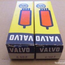 Radios antiguas: PAREJA DE VÁLVULAS E90F VALVO NOS NUEVAS. Lote 77160873