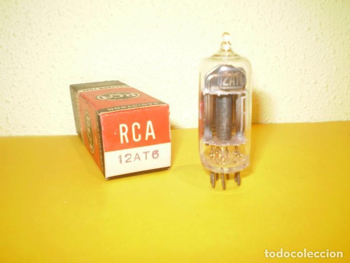 VALVULA 12AT6-RCA-NOS/NIB-TUBE. (Radios, Gramófonos, Grabadoras y Otros - Repuestos y Lámparas a Válvulas)