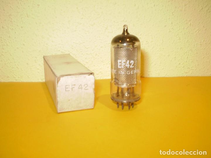 VALVULA EF42-NUEVA. (Radios, Gramófonos, Grabadoras y Otros - Repuestos y Lámparas a Válvulas)