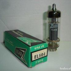 Radios antiguas: VALVULA EL504 ZAERIX. Lote 77355969