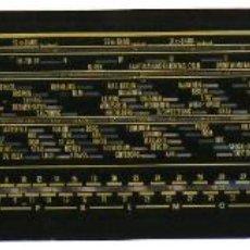 Radios antiguas: CRISTAL DE DIAL PARA RADIO A VÁLVULAS SIEMENS 843W. Lote 77385209