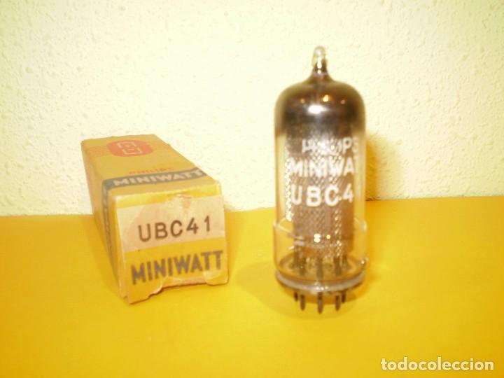 VALVULA UBC41-MINIWATT-NUEVA. (Radios, Gramófonos, Grabadoras y Otros - Repuestos y Lámparas a Válvulas)