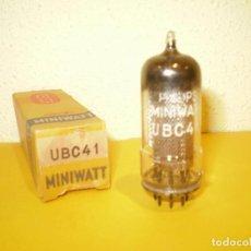 Radios antiguas: VALVULA UBC41-MINIWATT-NUEVA.. Lote 262747380