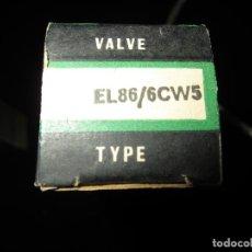 Rádios antigos: VÁLVULA EL86 NUEVA. Lote 223580935