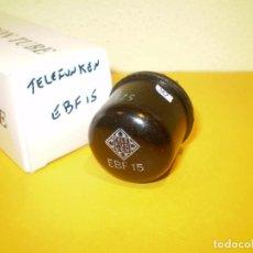 Radios antiguas: VALVULA EBF15-TELEFUNKEN- TESTADA.. Lote 77844741