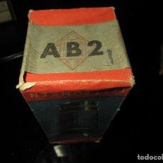 Radios antiguas: VÁLVULA AB2 NUEVA. Lote 176140489