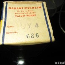 Radios antiguas: VÁLVULA UY4 NUEVA. Lote 79933857