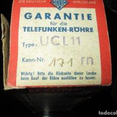 Radios antiguas: VÁLVULA UCL11 NUEVA. Lote 79935785