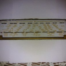 Radios antiguas: CRISTAL DE DIAL DE RADIO ANTIGUO. Lote 80630246